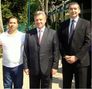 Фото: Арбен Костури, Георге Иванов, Васил Стерјовски