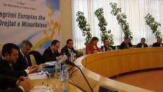 """Во организација на Партијата за човекови права (партија на грчкото малцинство)а по повод Меѓународниот ден за човекови права, во Тирана се одржа конференција на тема: """"Европската интеграција и правата на […]"""