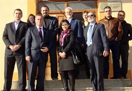 Преставници на Универзитетот за туризам и менаџмент од Скопје во Пустец