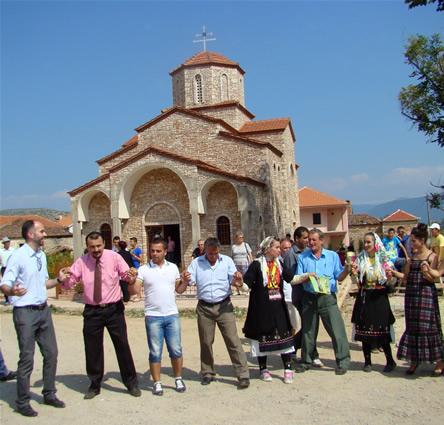 Прослава на денот на независноста на Р.Македонија во Мала Преспа