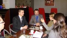 Во Корча, на 25 февруари 2013 година делегација на Македонска алијанса за европска интеграција, предводена од Едмонд Темелко, Васил Стерјовски и Андон Јани остварија средба со амбасадорот на Република Чешка […]