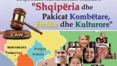 """Правниот факултет при Универзитетот """"Марлин Барлети"""", во соработка со албанскиот Институт за односи со јавноста при овој Универзитет, на 13-ти и 14-ти февруари организираа Меѓународна научна конференција """"Албанија и националните […]"""