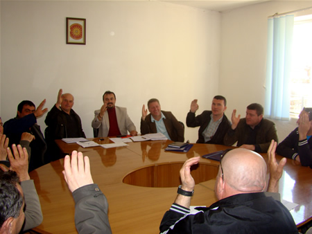 Од гласањето во Советот на општина Пустец