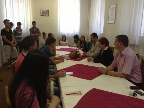 Од средбите со студентите во Битола