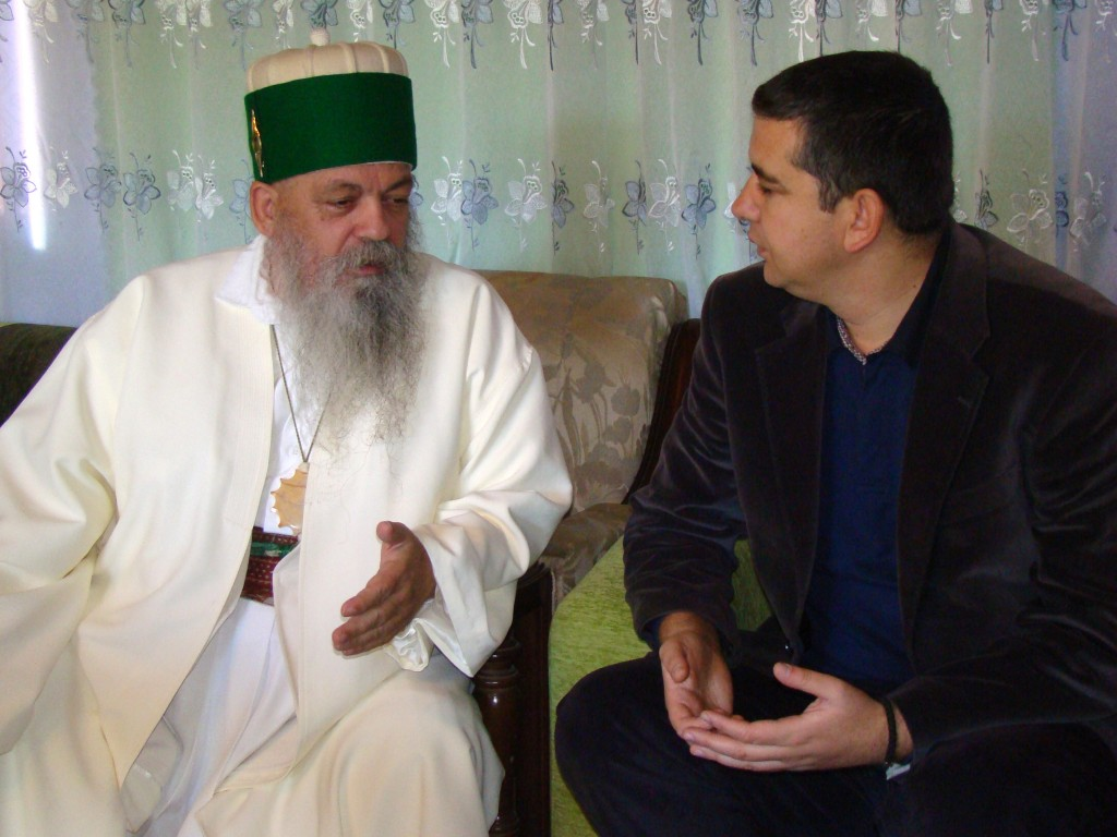 Баба Едмонд Брахимај и Васил Стерјовски