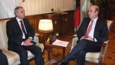 Ministri i Bujqësisë, Zhvillimit Rural dhe Administrimit të Ujërave, Edmond Panariti priti sot në takim ambasadorin e Maqedonisë në vendin tonë z. Stojan Karajanov. Ministri Panariti u shpreh se bashkëpunimi […]