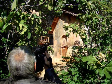 Nga realizimi i reportazhit në Prespë