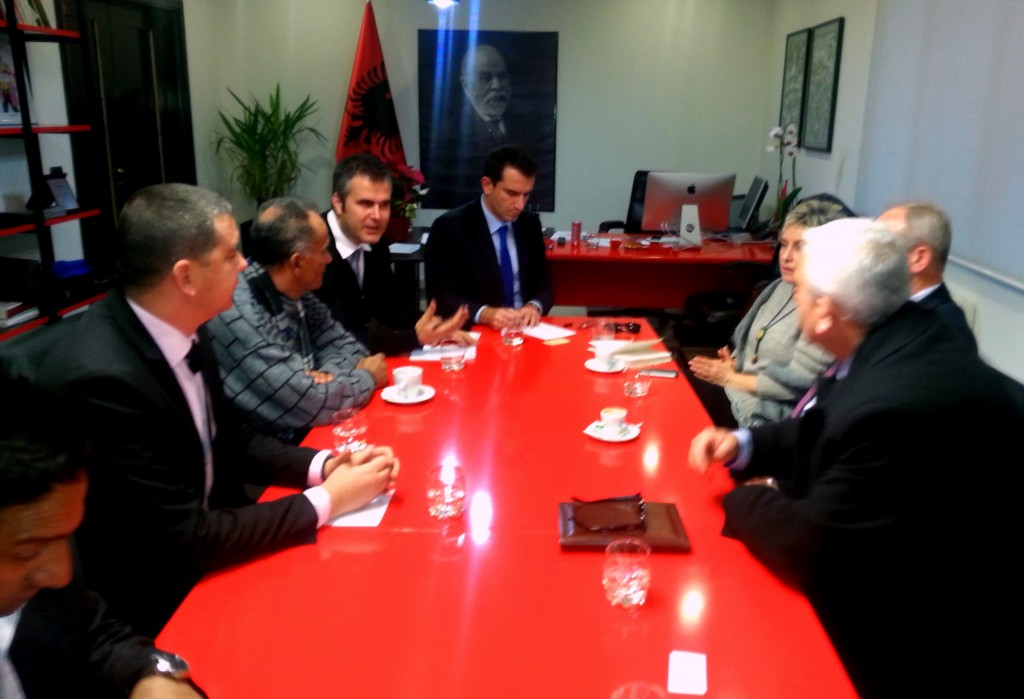 Од средбата со министерот Велиај