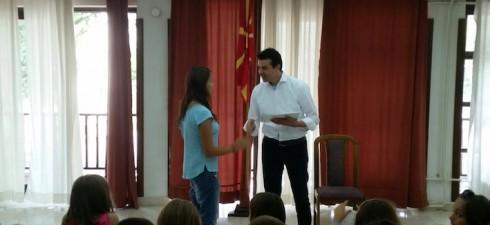 """Триесетина македонски деца од Албанија, и тоа од областите Мала Преспа, Гора и Голо Брдо, како и од градовите, Корча, Билишта, Тирана и Поградец од 10 до 17 август учествуваа"""",..."""