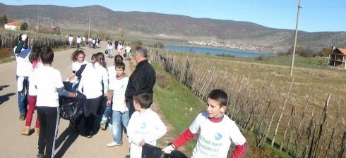 На иницијативата за чистење на Албанија, како дел од проектот кој се спроведува во над 100 земји, се приклучи и националниот парк Преспа, и учениците од училиштата во Преспа ....