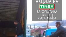 """Компанијата """"Тинекс"""" за Македонците во општина Пустец додели донација од 1150 пакети хуманитарна помош со основни прехрамбени продукти и со средства за лична хидиена со вкупна вредност од 684.250 денари. […]"""