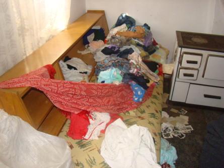 Село Церје ограбени куќи